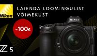 Astu täiskaader kaamerate maailma - Nikon Z 5 on 100€ soodsam