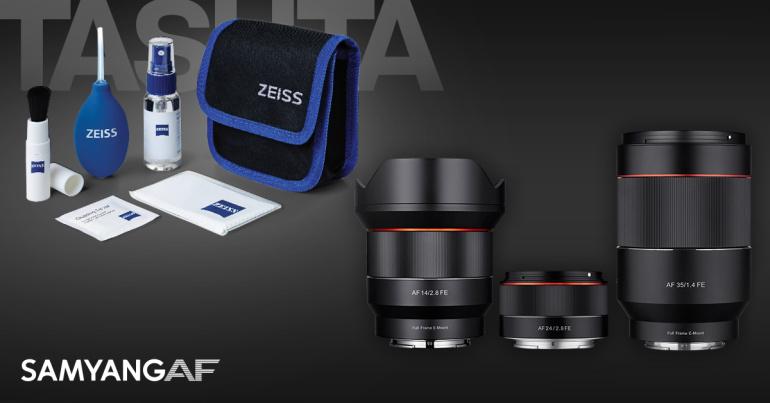Sony hübriidkaameratele sobiva Samyang objektiivi ostul saad praktilise kingituse