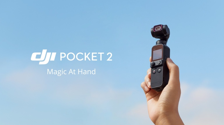 DJI Pocket 2 on uus stabiliseeritud sensoriga pisike 4K kaamera