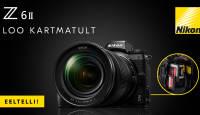 Nikon Z 6 II täiskaader hübriidkaamera toob kaks mälukaardipesa ja 4K/60p video