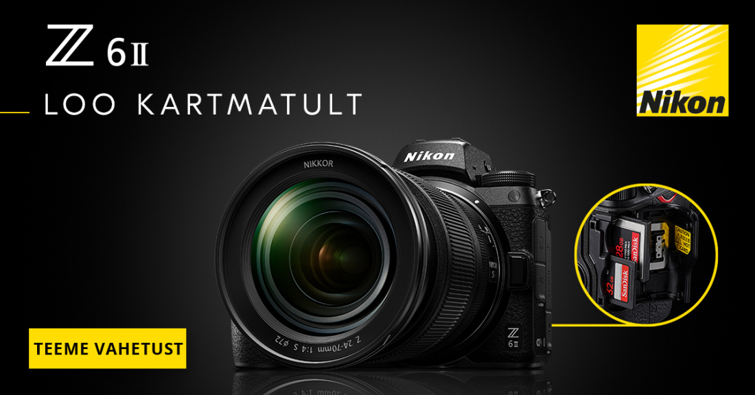 Nikon Z6 II kampaania