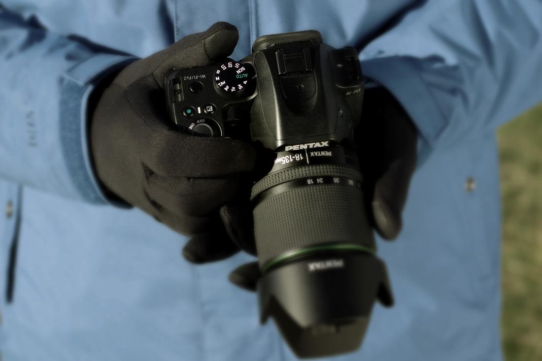 Pentax K-70 peegelkaamera