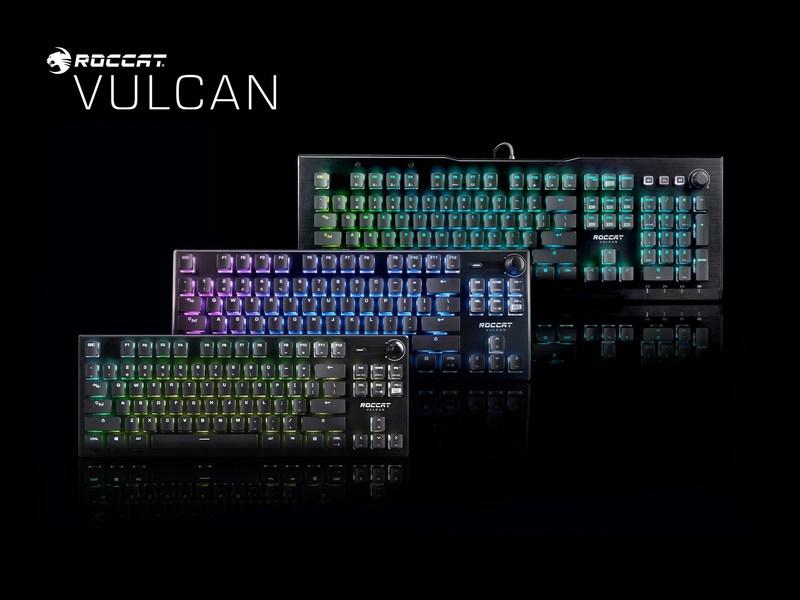 Roccat Vulcan 2020 klaviatuurid