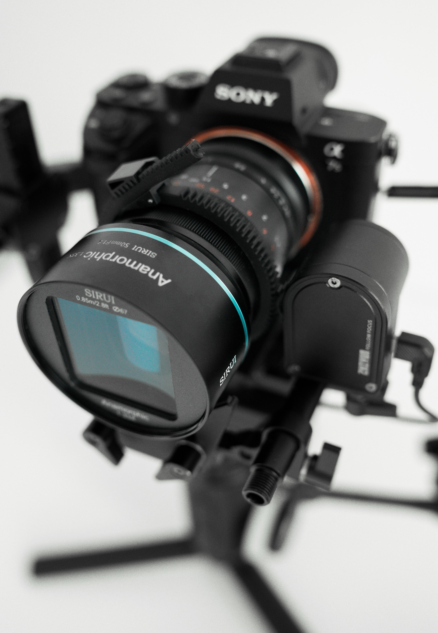 Sirui 50mm f/1.8 Anamorphic objektiiv