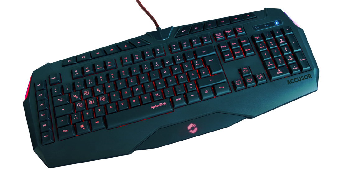Speedlink klaviatuur Accusor (SL-670005-BKNC)