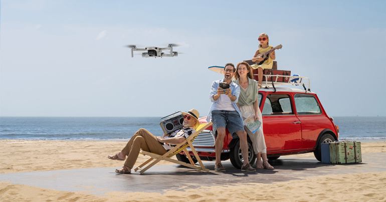 Mini 2 on DJI uus kõige väiksem kokkuvolditav 4K droon