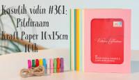 Kasulik vidin #361: Pildiraam Kraft Paper 10x15cm 10tk