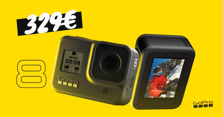 SOTT ALLA: kõigekindel GoPro HERO8 Black on lausa 100€ soodsam