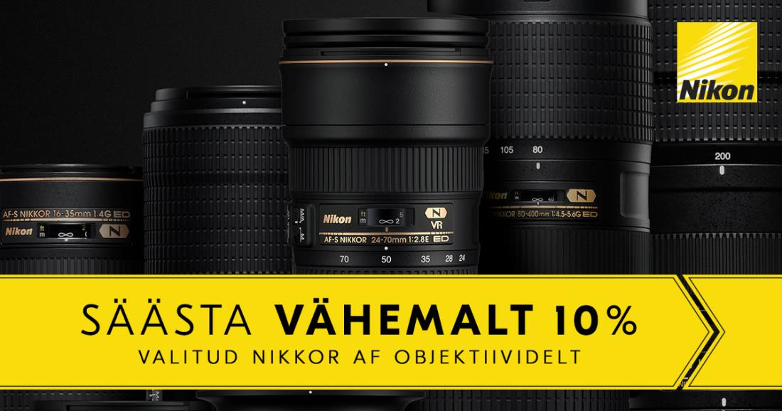 Nikon Nikkor AF objektiivid