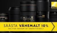 KEVADKAMPAANIA: valitud Nikon AF-objektiivid on müügil soodushinnaga