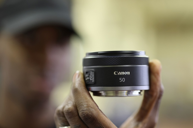 Seda on oodatud - müügile tuleb Canon RF 50mm f/1.8 STM objektiiv