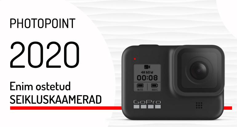 Need on 2020. aasta enim ostetud seikluskaamerad
