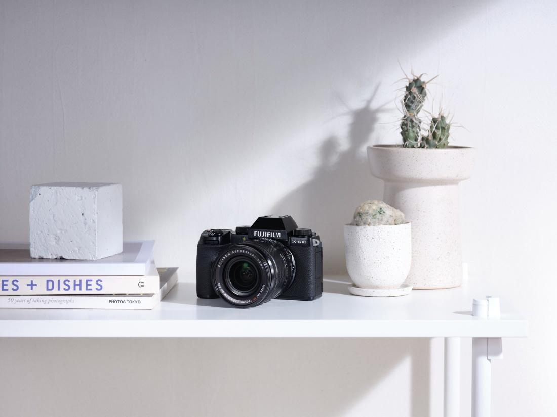 Fujifilm X-S10 hübriidkaamera