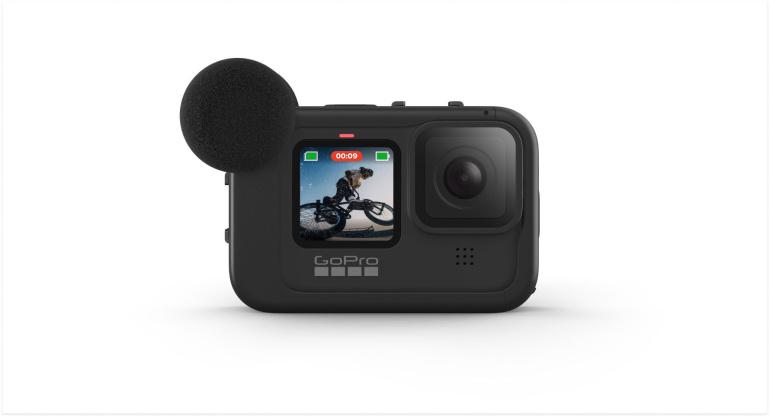 GoPro HERO9 Black kaamerale loodud Media Mod ümbris on nüüd müügil