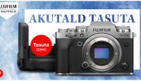 Fujifilm X-T4 hübriidkaamera ostul anname kingituseks funktsionaalse akutalla