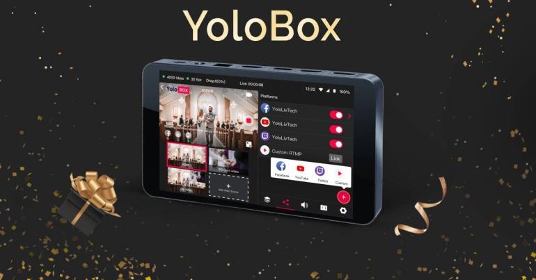 #blackfriday: YoloLiv otseülekande seade YoloBox on lausa -330€