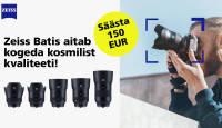 Sa oled seda väärt - Zeiss Batis profiobjektiivid on 150€ soodsamad