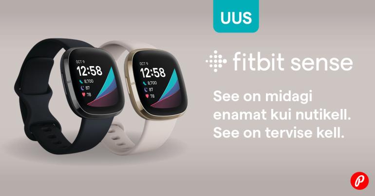 KINGIIDEE: uue Fitbit Sense kella ostul saad kingituseks Fitbiti nutikaalu