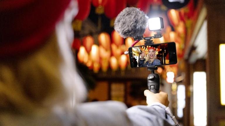 RØDE Vlogger Kit on täiuslik komplekt nutitelefoniga sisuloojale