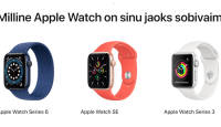 Milline nutikell on Sulle parim – Apple Watch 3, Watch SE või Apple Watch 6?