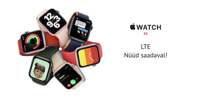 4G toega Apple Watch SE (GPS + Cellular) nutikell on nüüd müügil