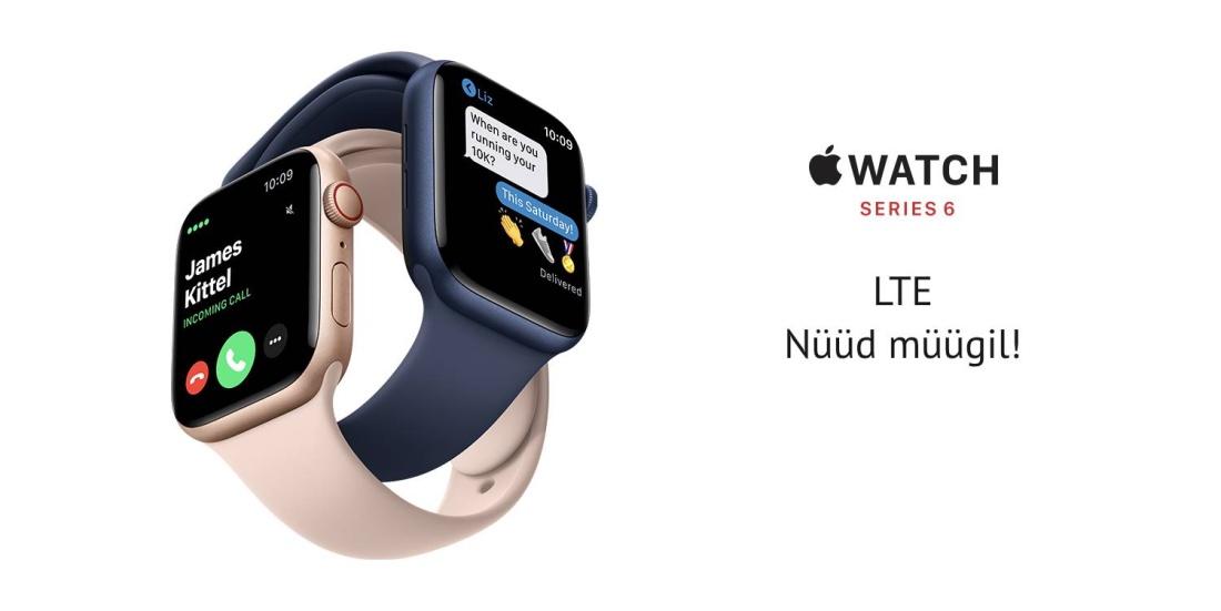 Apple Watch Series 6 LTE nutikell