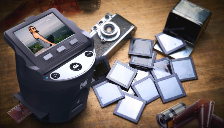 Slaidi & negatiivide skänner Kodak Scanza Digital on müügil jõuluhinnaga