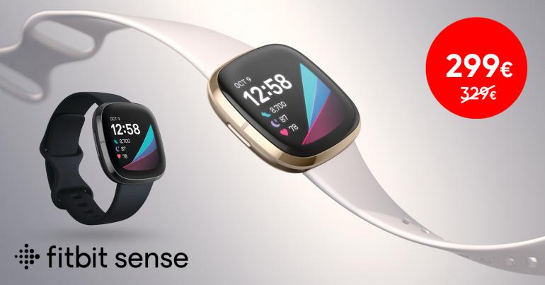 Võimekas Fitbit Sense nutikell on talvise soodushinnaga
