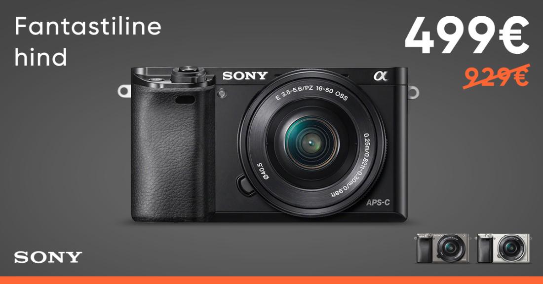 Sony a6000 + 16-50 kit