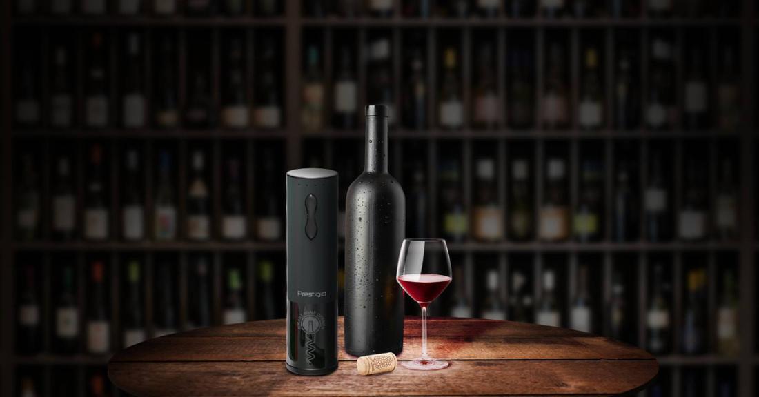 Prestigio elektriline veinipudeli avaja