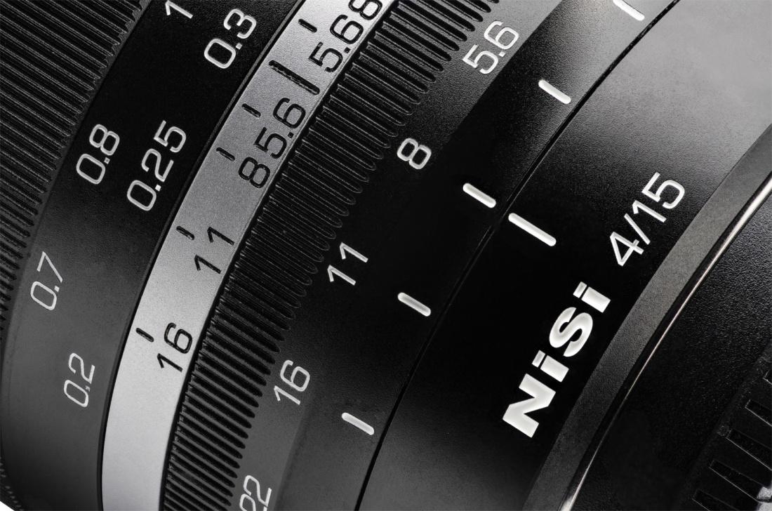 NiSi 15mm f/4 objektiiv