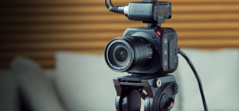 Nüüd saadaval: modulaarse disainiga Panasonic Lumix DC-BGH1 videokaamera