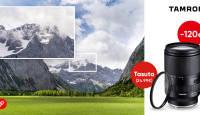 Tamron 28-200mm RXD objektiiv Sonyle on -120€ ja kaasa kingitused