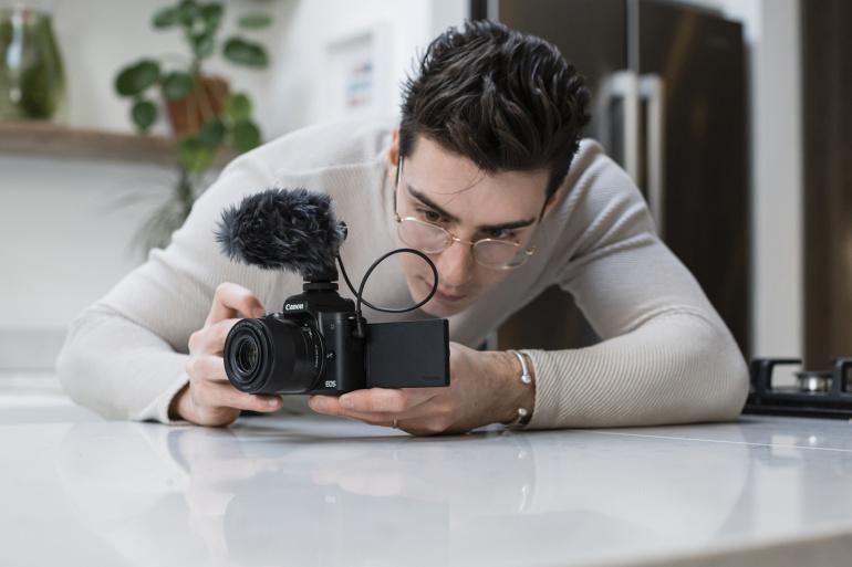 Canon EOS M50 Mark II on arvatavasti vloggerite uus meeliskaamera