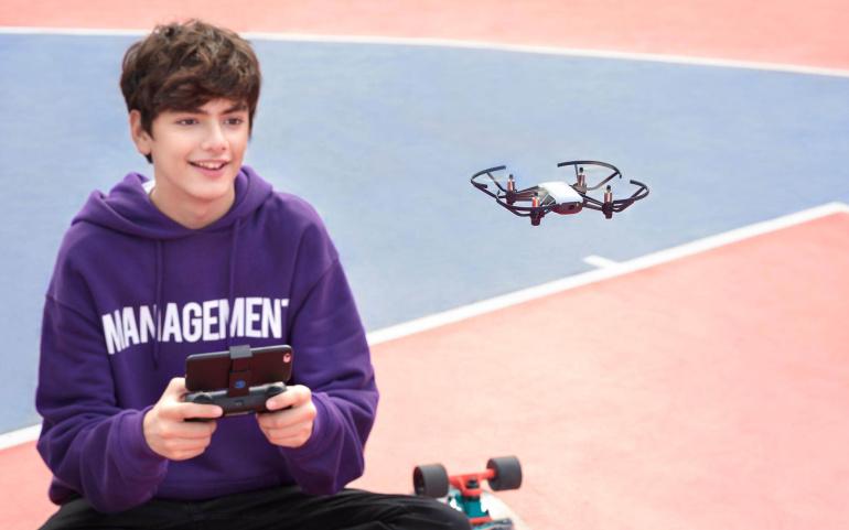 DJI Ryze Tello on pisike droon, mis sobib nii lastele kui täiskasvanutele