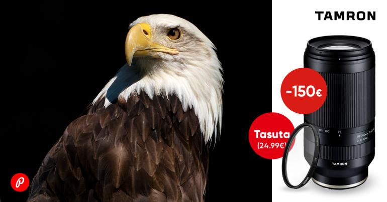 Tamron 70-300mm f/4.5-6.3 Di III RXD on -150€ ja ostul kaasa väärt kingitus