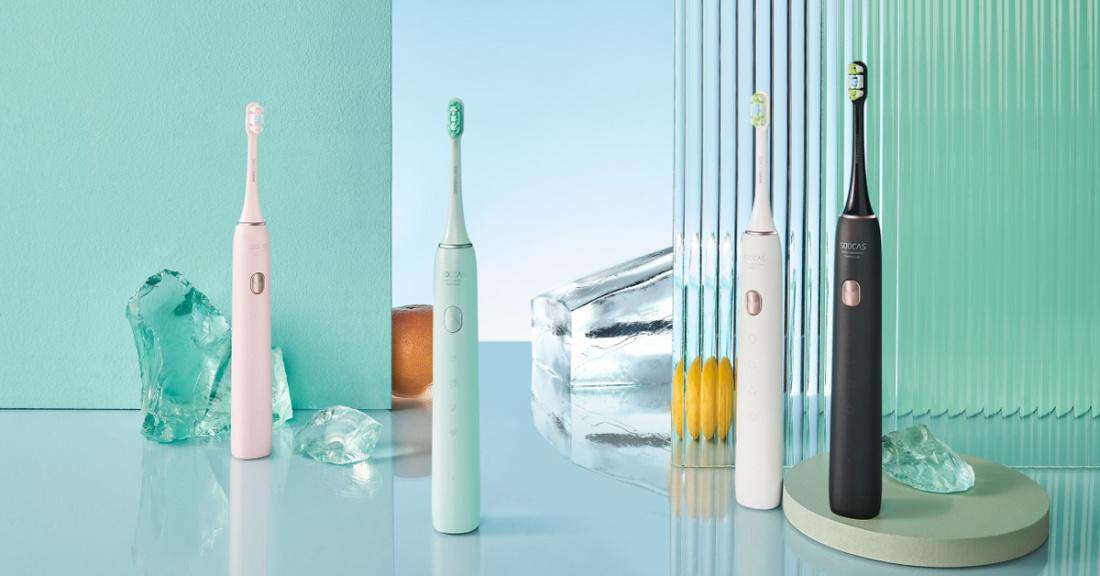 Soocas elektrilised hambaharjad