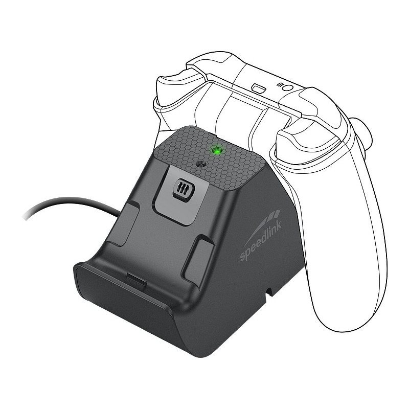 Speedlink mängupuldi laadija Jazz Xbox Series X/S (SL-2600-02-BK)