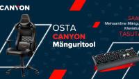 Canyon mänguritooli ostul saad kingituseks mehaaniliste klahvidega klaviatuuri