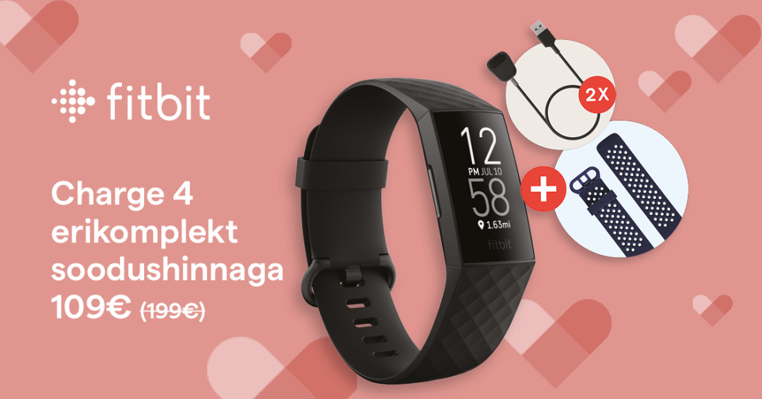 Fitbit Charge 4 Bundle