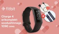 Fitbit Charge 4 nutivõru erikomplekt on müügil enneolematu soodushinnaga