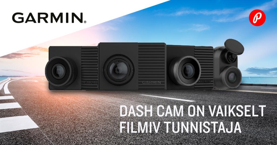 Garmin Dash Cam autokaamerad
