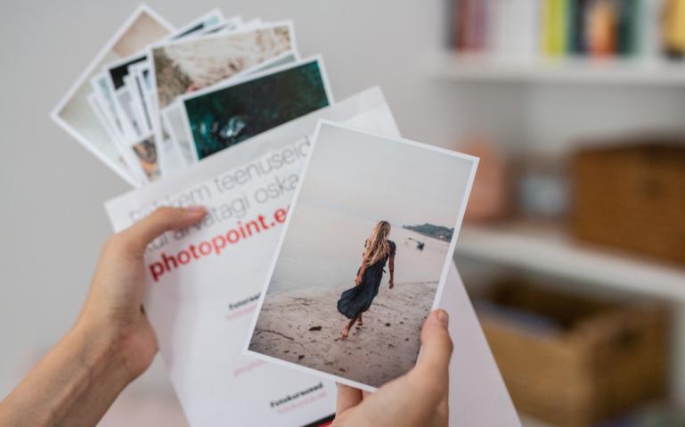 Säilita mälestusi ja telli paberfotod 20% soodsamalt