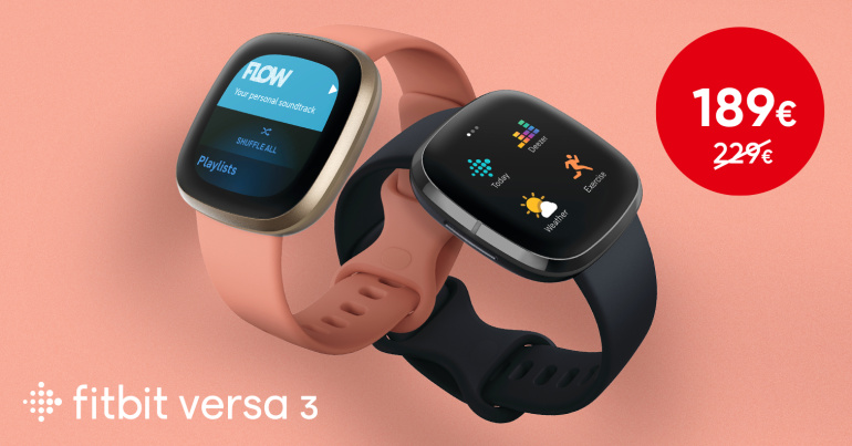 Kaunis ja võimekas Fitbit Versa 3 nutikell on müügil suurepärase soodushinnaga