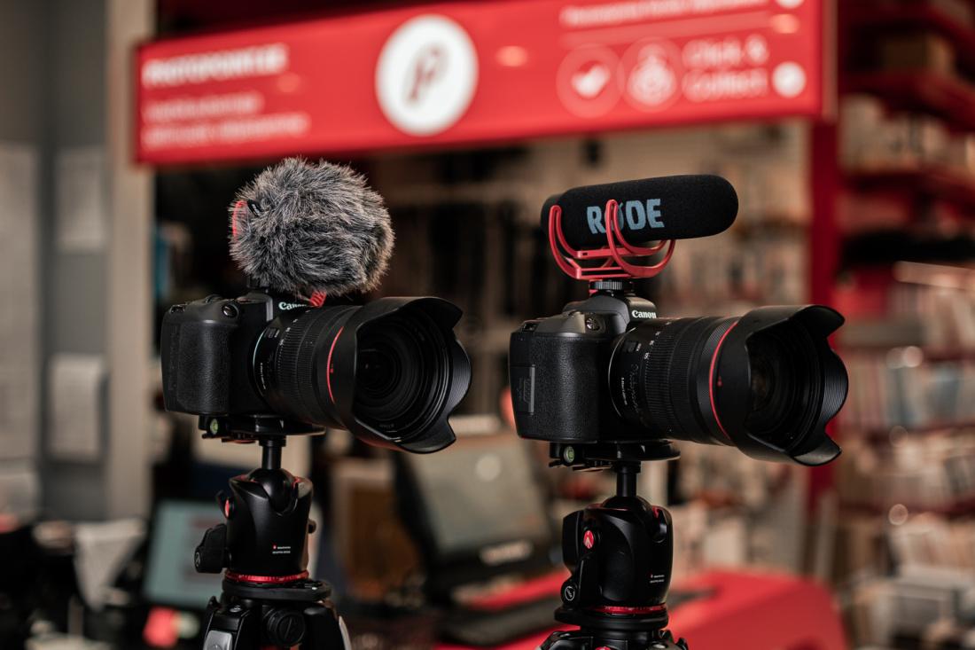 Rode VideoMicro ja Rode VideoMic Go rentimine