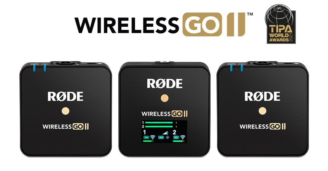 Rode Wireless GO II mikrofonisüsteem
