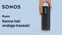 Rikkaliku helikvaliteediga Sonos Roam on hetkel lausa 40€ soodsam