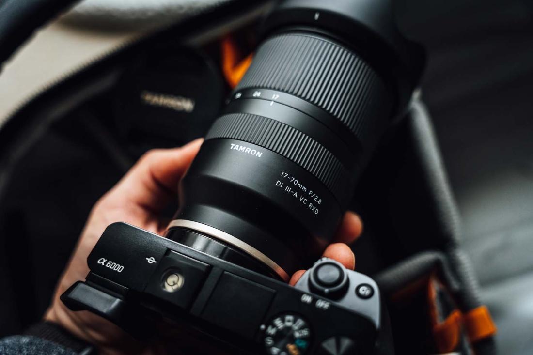 Tamron 17-70mm f/2.8 Di III-A RXD objektiiv Sonyle