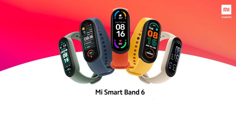 Xiaomi Mi Smart Band 6 - suurem ekraan ja SpO₂ jälgimine