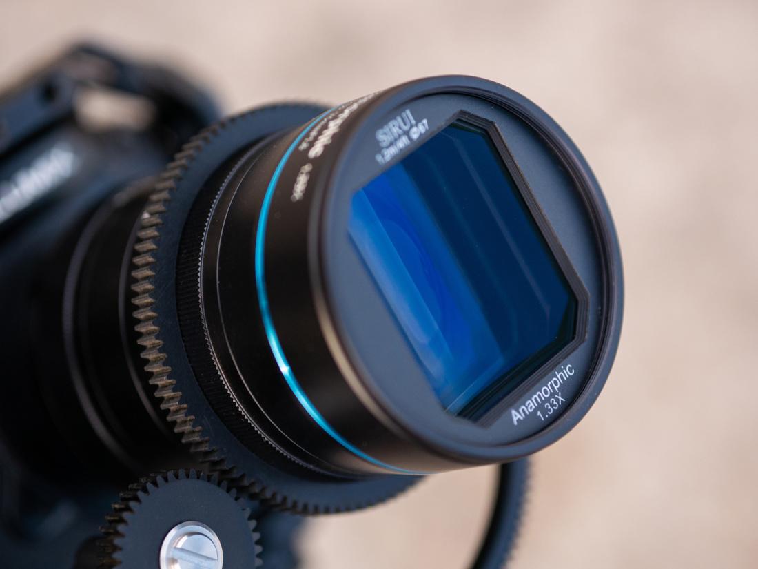 Sirui Anamorphic 1,33X 75mm